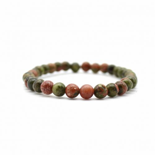 BRACELET ENFANT UNAKITE SIMPLY 4MM 1