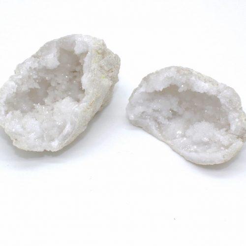 Mini géode cristal de roche du Maroc Qualité A 2-1